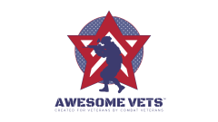 Awesome Vets print logo (complete)